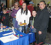 Family at Health Fair